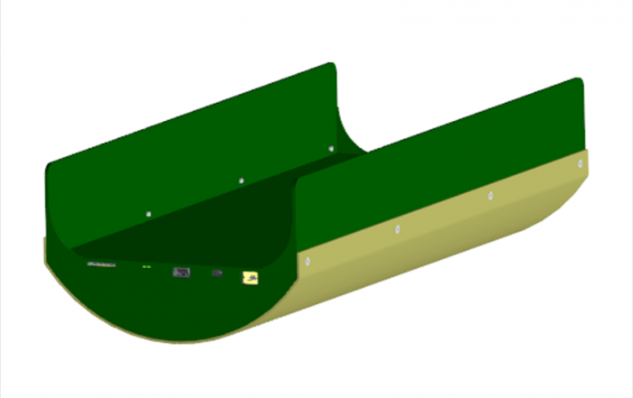 Co-Coon modelisation on solidworks
